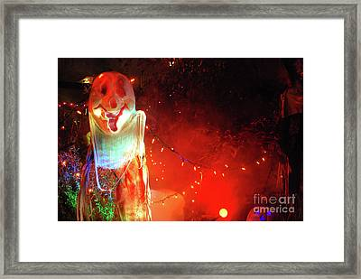 Framed Print featuring the photograph Halloween by Bill Thomson