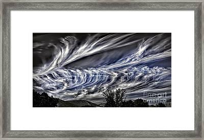 Halloween Clouds Framed Print by Walt Foegelle