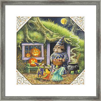 Halloween Costumes Framed Print