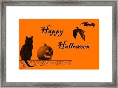 Halloween Framed Print by Darren Fisher