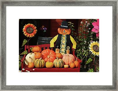 Halloween Display Framed Print by Art Block Collections