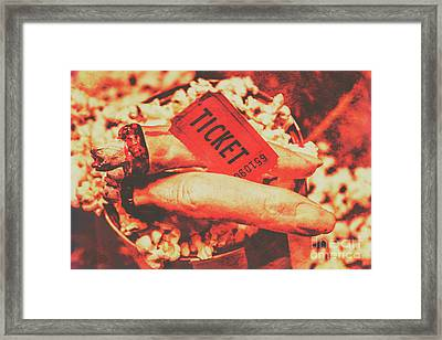 Halloween Horror Film Event Framed Print by Jorgo Photography - Wall Art Gallery