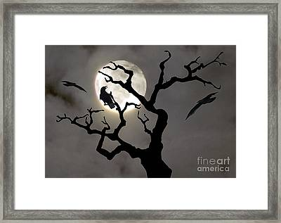 Halloween Framed Print by Jim Wright