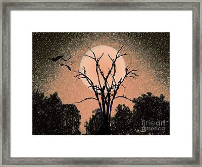 Halloween Night Framed Print by Desiree Paquette