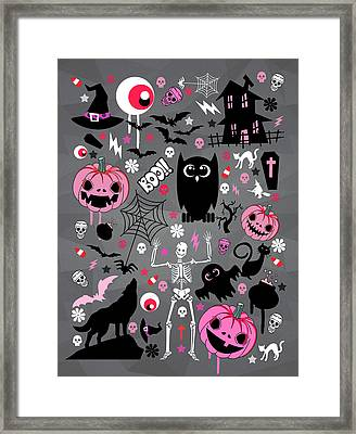 Halloween Night  Framed Print by Mark Ashkenazi