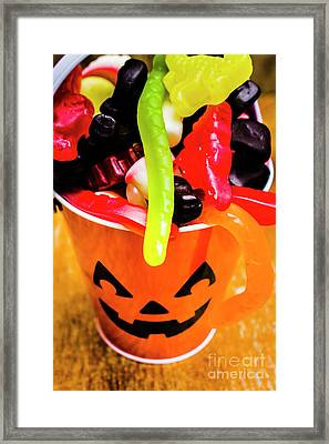 Halloween Party Details Framed Print by Jorgo Photography - Wall Art Gallery