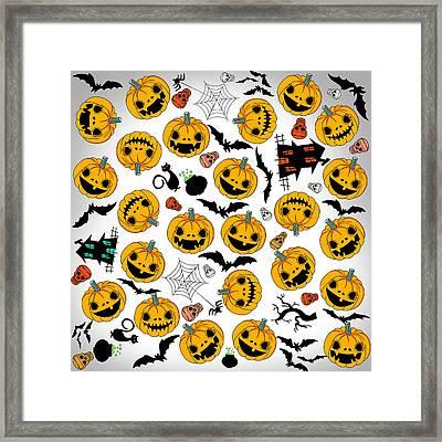 Halloween Party  Framed Print by Mark Ashkenazi