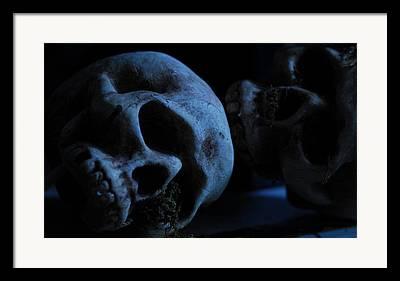 Skeleton Framed Prints