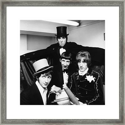 The Who - Halloween 1960's Framed Print