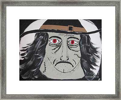 Halloween Witch Framed Print by Jeffrey Koss