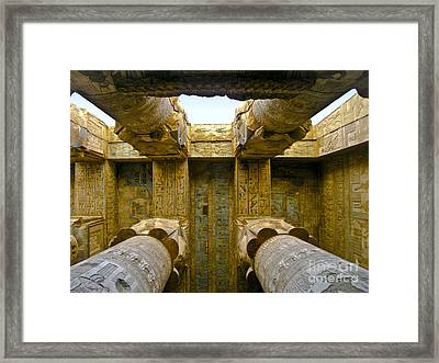 Halls Of History Framed Print
