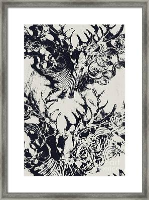 Halls Of Horned Art Framed Print
