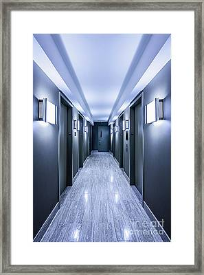 Halls Of Mystery Framed Print