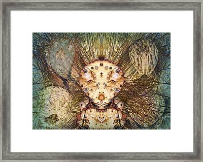 Hallucina-jim Framed Print