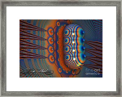 Hallucinogen Fractal Framed Print