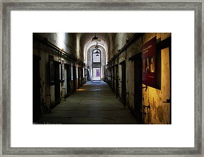 Hallway At Eastern State Penitentiary  Framed Print