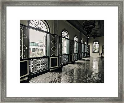 Hallway Framed Print by Charuhas Images