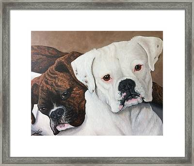 Halo And Henry Framed Print