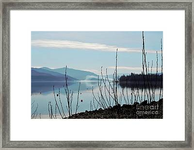 Framed Print featuring the photograph Halo On Copper Island by Victor K