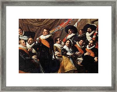 Hals Frans Banquet Of The Officers  Framed Print