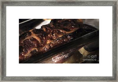 Ham And Potatoes Framed Print