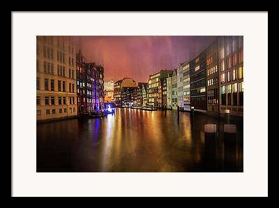 Hamburg Photographs Framed Prints