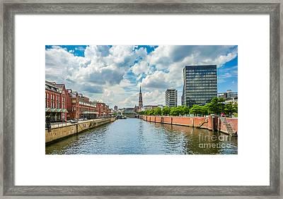 Hamburgs Finest Framed Print
