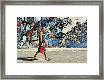 Hamel Street Framed Print by Dawn Currie