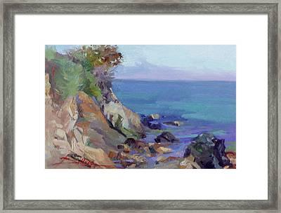 Hamilton Cove Catalina Island Framed Print
