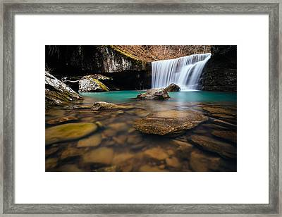 Hamilton Falls Framed Print by Kurt Jones