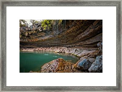 Hamilton Pool Framed Print