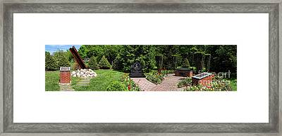 Hamilton Township New Jersey Heroes Memorial Framed Print