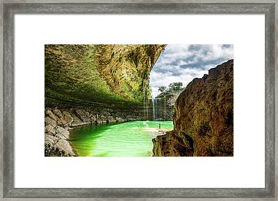 Hamiltons Pool Framed Print