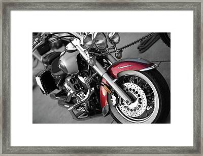Framed Print featuring the photograph Hammer Down by Anthony Rego