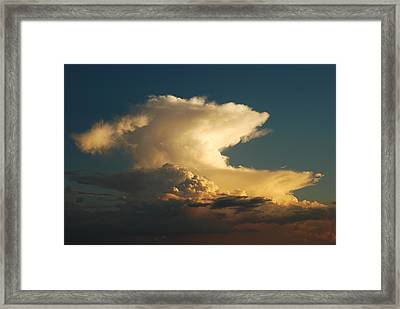 Hammerhead Cloud Framed Print