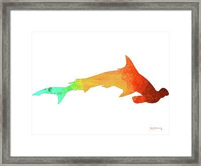Hammerhead Shark Framed Print