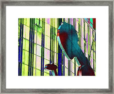 Hammering Man 3 Framed Print by Tim Allen