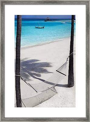 Hammock Time Framed Print