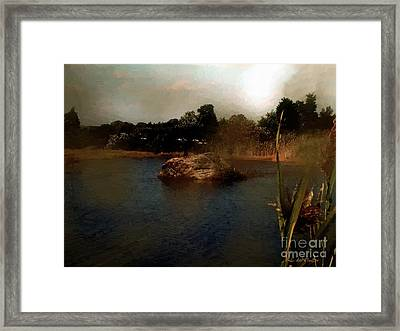 Hammonasset Sunset Framed Print by RC DeWinter