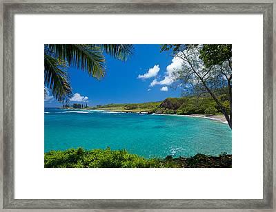 Hamoa Beach Framed Print
