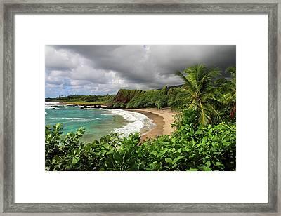 Hamoa Beach Hana Framed Print by Pierre Leclerc Photography