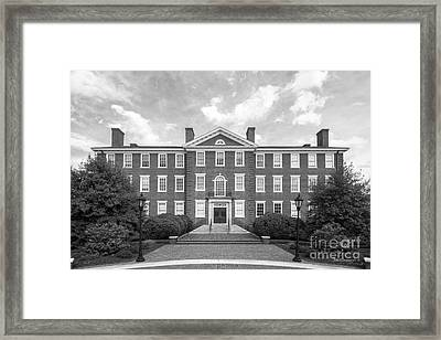 Hampden- Sydney College Morton Hall Framed Print