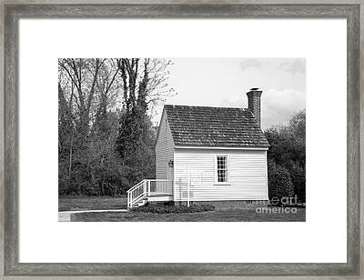 Hampden- Sydney College The Birthplace Framed Print