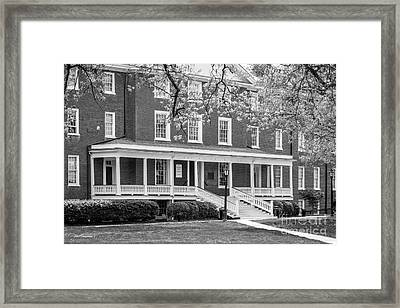 Hampden- Sydney College Venable Hall Framed Print by University Icons