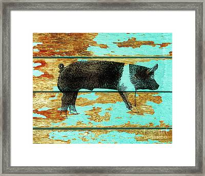 Hampshire Boar 1 Framed Print by Larry Campbell