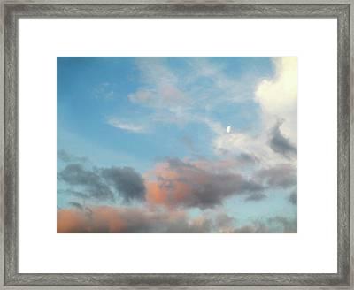 Hampshire Sky Framed Print
