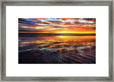 Framed Print featuring the photograph Hampton Beach by Robert Clifford