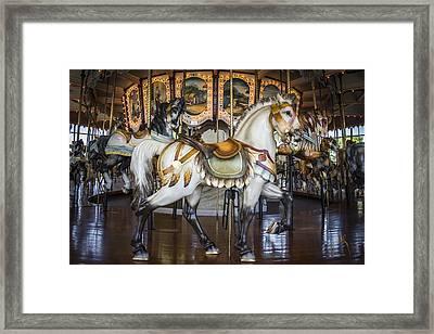 Hampton Carousel Framed Print