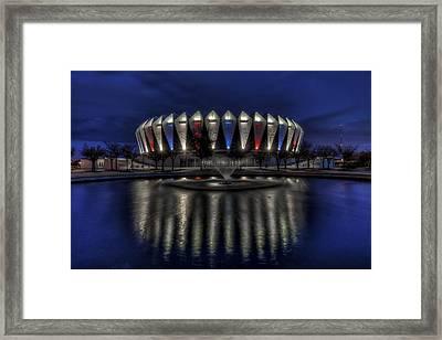 Hampton Coliseum Framed Print