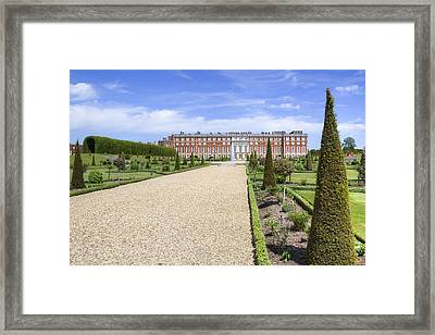 Hampton Court Palace - England Framed Print